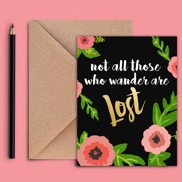 Greeting Card - Lost-Stationery-PropShop24.com