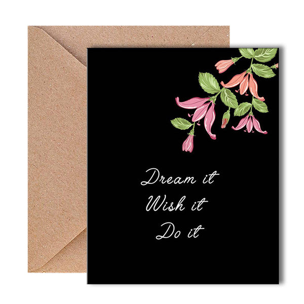 Greeting Card - Dream It-Stationery-PropShop24.com