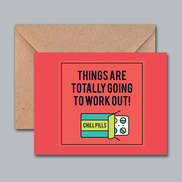 Greeting Card - Chills Pills - propshop-24