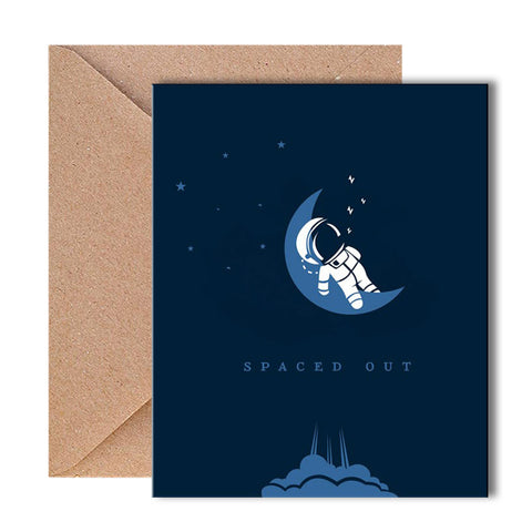 Greeting Card - Spaced Out - propshop-24