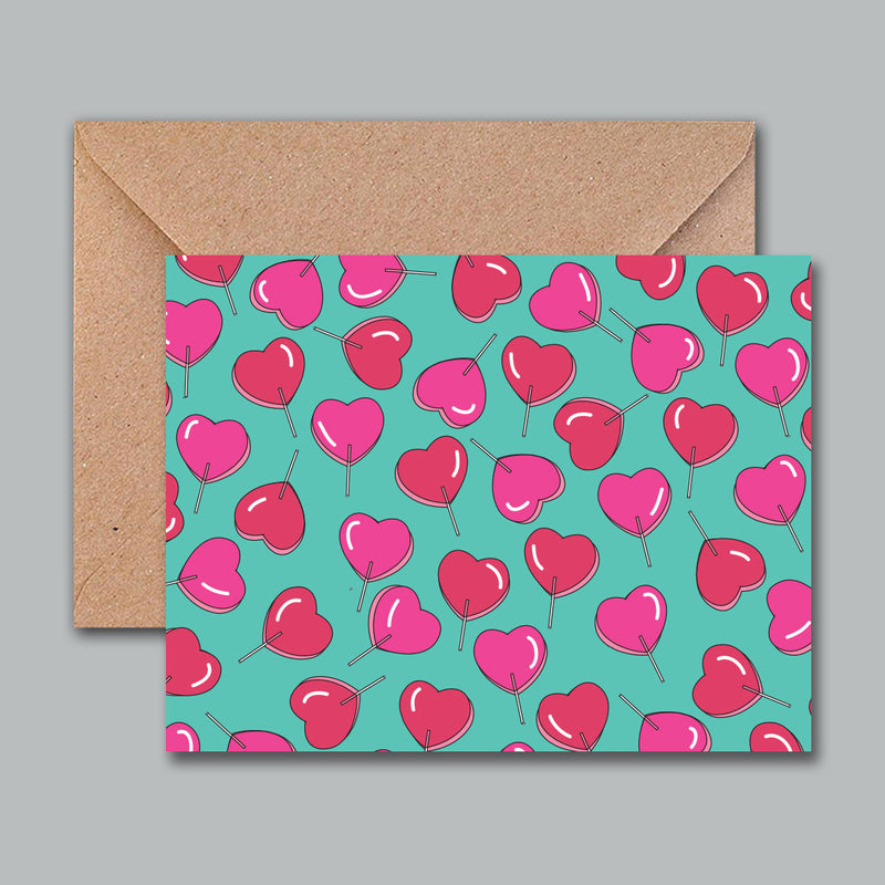 Greeting Card - Lollipop-GREETING CARDS-PropShop24.com