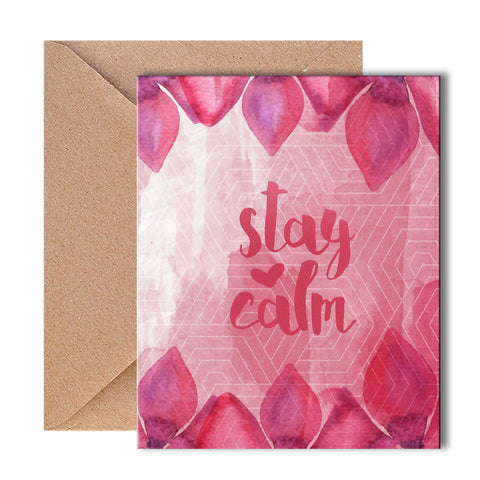 Greeting Card - Stay Calm - propshop-24