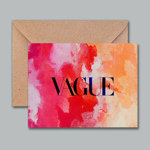 Greeting Card - Vague - propshop-24