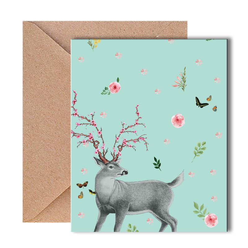 Greeting Card - Oh Deer-GREETING CARDS-PropShop24.com