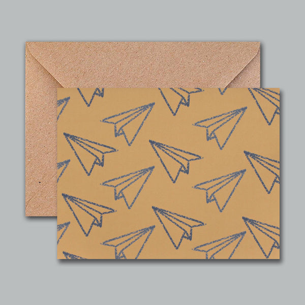 Greeting Card - Paper Planes-Stationery-PropShop24.com