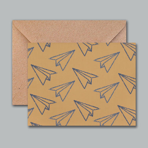 Greeting Card - Paper Planes - propshop-24