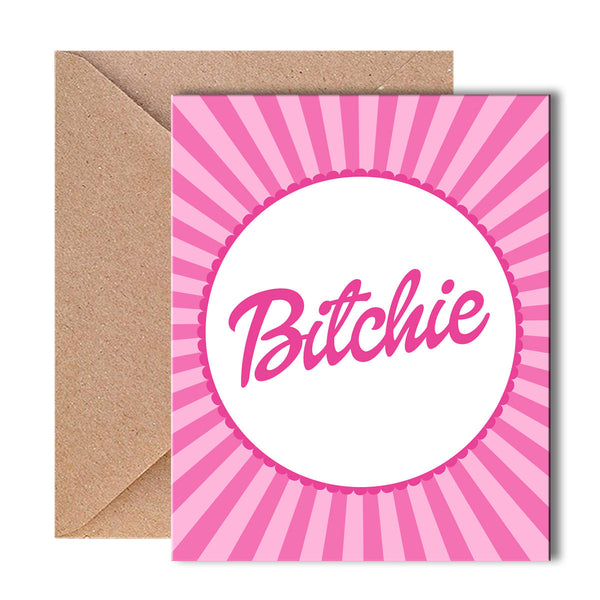 Greeting Card - Bitchie - propshop-24