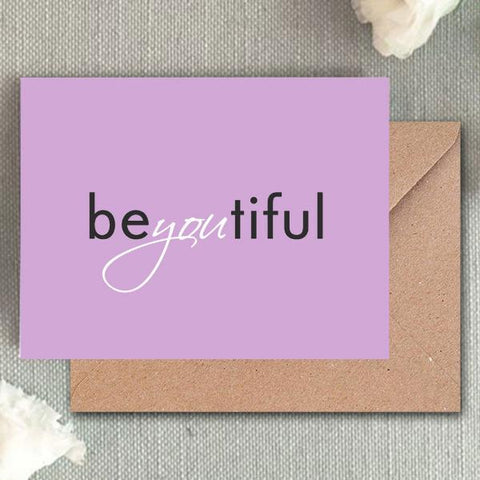 Greeting Card - Be You - propshop-24