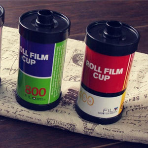 Roll Film Shaped Cup - Red & White-DINING + KITCHEN-PropShop24.com