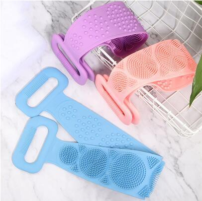 Bath Scrub Massager - Assorted-BATHROOM ESSENTIALS-PropShop24.com