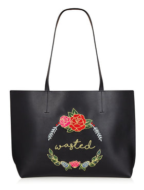 Wasted - Tote Bag-FASHION-PropShop24.com