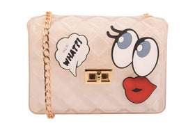 Candy love sling bag - White-FASHION-PropShop24.com