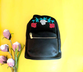 Rose Embroidery Bagpack-FASHION-PropShop24.com