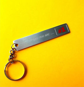 Keychain - Dad You Are No1-FASHION-PropShop24.com