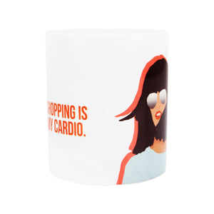 Coffee Mug - Shopping Is My Cardio-Home-PropShop24.com