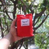 Pocket Mat - Multipurpose Travellers Groundsheet - Red Pouch-PERSONAL-PropShop24.com