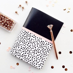 Notebook- Chic Bubbles Notebook - A5 Size - Dot Grid-NOTEBOOKS + JOURNALS-PropShop24.com