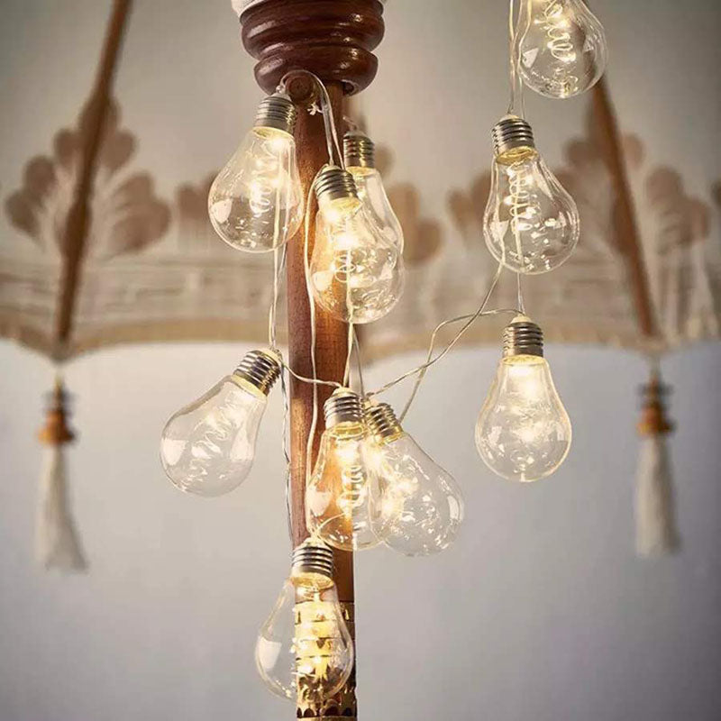 LED Bulb String Lights - 2 Meter - Battery - Warm White-HOME ACCESSORIES-PropShop24.com