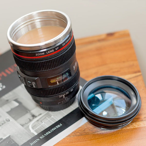Lens Coffee Cup - Black-Home-PropShop24.com