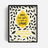 Tray / Desk Organizer - When Life Gives You Lemons-Stationery-PropShop24.com
