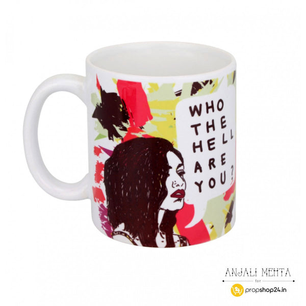 Coffee Mug - Who The Hell Are You - propshop-24 - 1