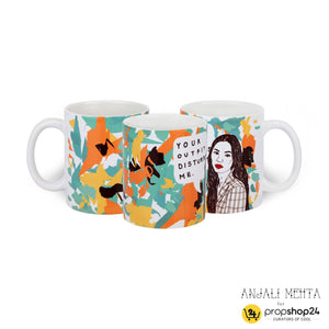 Coffee Mug - Your Outfit Disturbs Me-DINING + KITCHEN-PropShop24.com