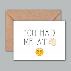 Greeting Card - You Had Me At-GREETING CARDS-PropShop24.com