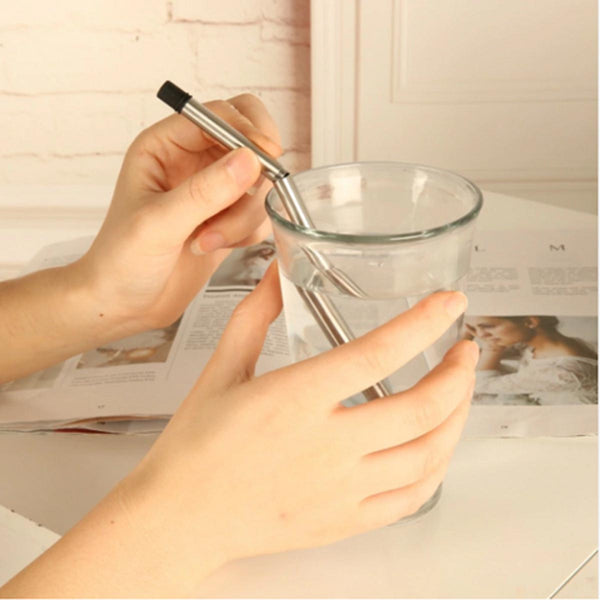 Straw - Collapsible Reusable Stainless Steel-HOME-PropShop24.com