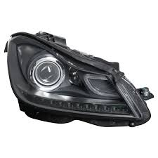2048203839 HEADLAMP RIGHT W204 F/L 2011-2014 XENON INTELLIGENT NEW