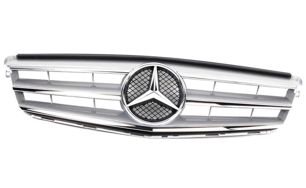 a2048800023 grille for mercedes benz c class w204 2007. Black Bedroom Furniture Sets. Home Design Ideas