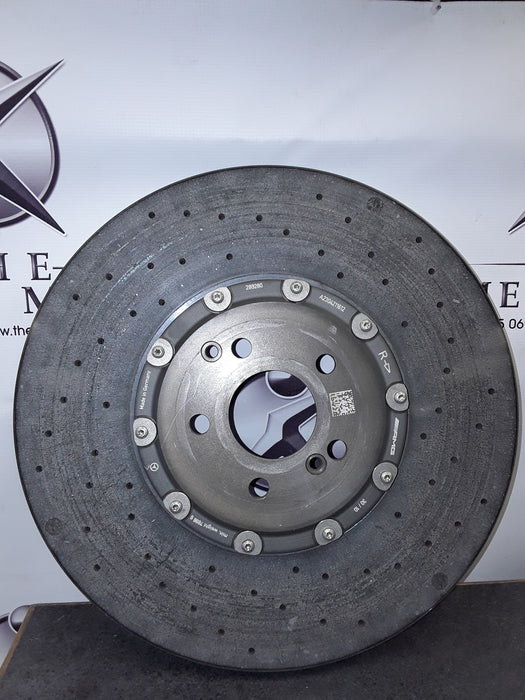 A2304211612 Brake Disc Right Front E63/SLS63 AMG new