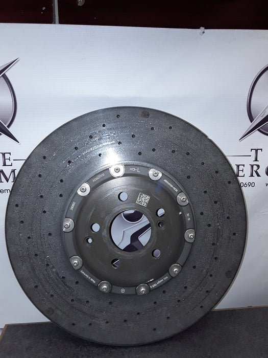 A2304211712 Brake Disc Front Left E63/SLS63 AMG new ceramic
