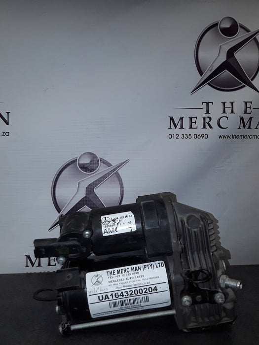 A1643200204 Compressor For Air Suspension Mercedes ML W164 or R Class W251 used