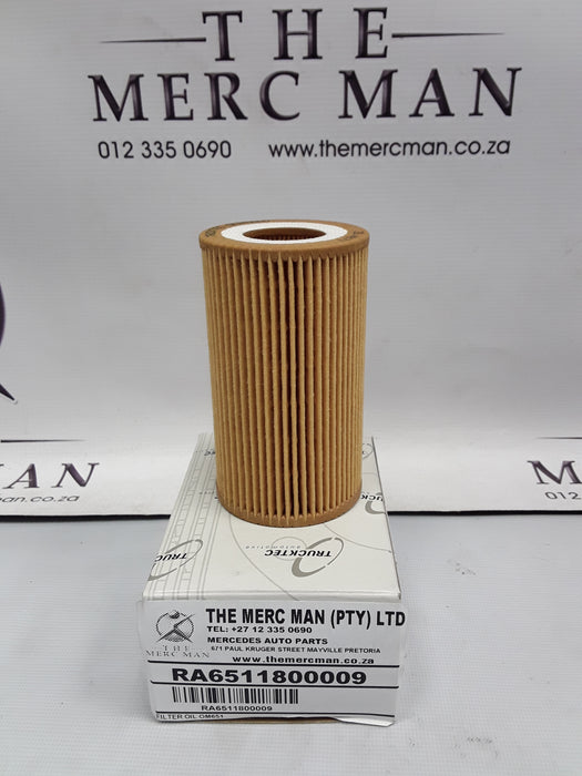 A6511800109 Oil Filter OM651 New Diesel Engines
