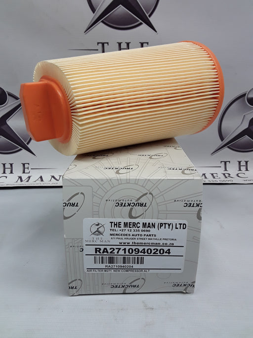 A2710940204 Air Filter For M271 Kompressor Engine New W203/204/209/211/212/906