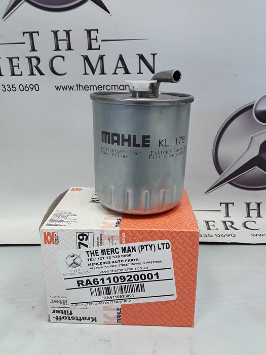 A6110920001 Fuel Filter Om611 & OM612 Diesel Engines W203/ W211/W163