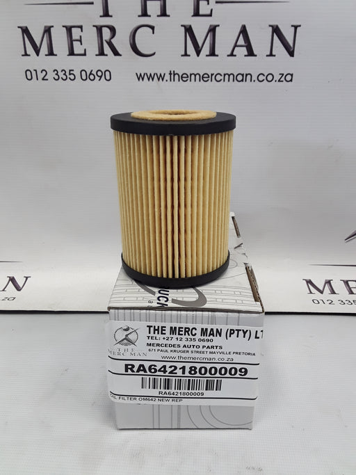 A6421800009 Oil Filter OM642 Diesel Engines W203/204/218/219/211/212/207/463/164/166/251/221/222/906/639