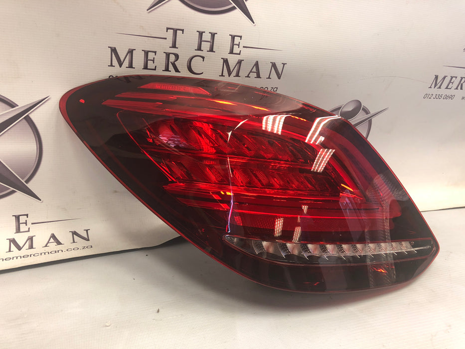 2059064503 Tail Lamp Left Side W205 LED Mercedes C Class 2018+ New