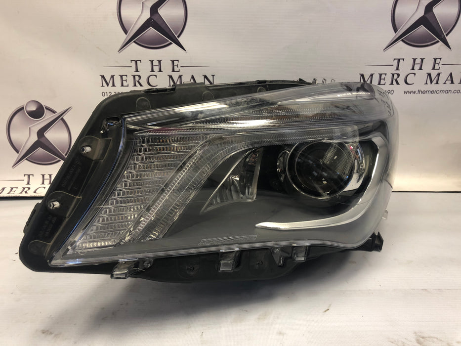 1179067500 Headlamp W117 CLA Class Left side Xenon Intelligent used