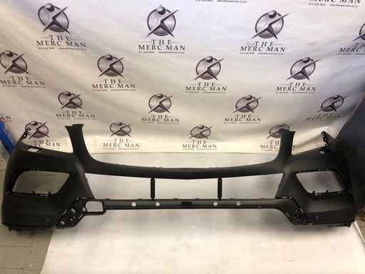 1668851425 FRONT BUMPER W166 ML + PDC + WASHER NEW