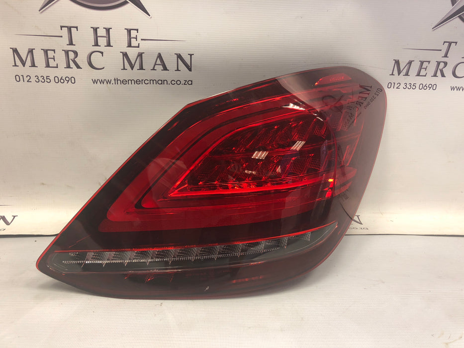 2059064803 Tail Lamp Right Side W205 LED Mercedes C Class 2018+ New