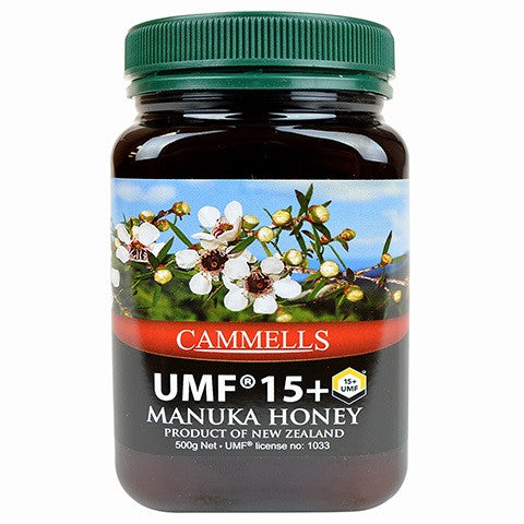 CAMMELLS Manuka Honey UMF 15+