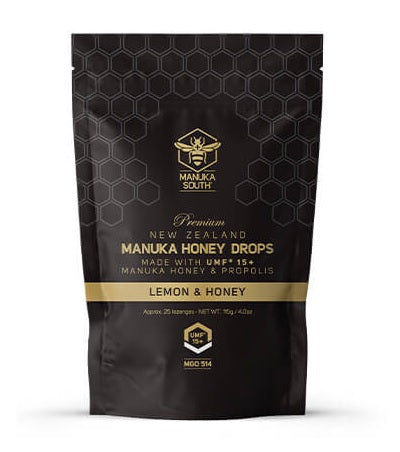 New Zealand UMF 15+ Mānuka Honey Drops 25pcs - Manuka Canada, Honey World Store