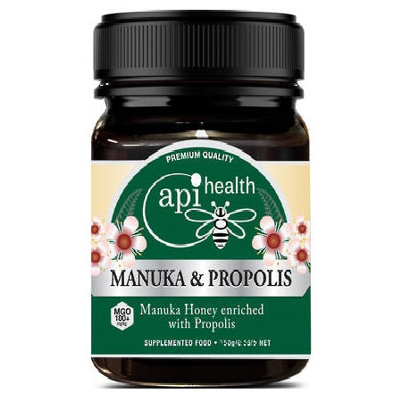 ApiHealth NZ Manuka Honey and Propolis 500g - Manuka Canada, Honey World Store