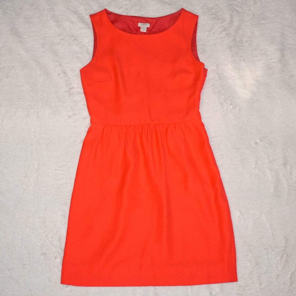 J. Crew Coral Dress - Kaitlyn Athena