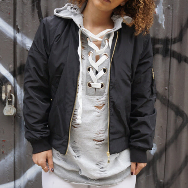 Houston Bomber Jacket - Kaitlyn Athena