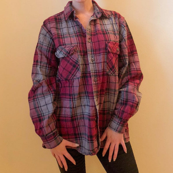 Plaid Flannel - Kaitlyn Athena