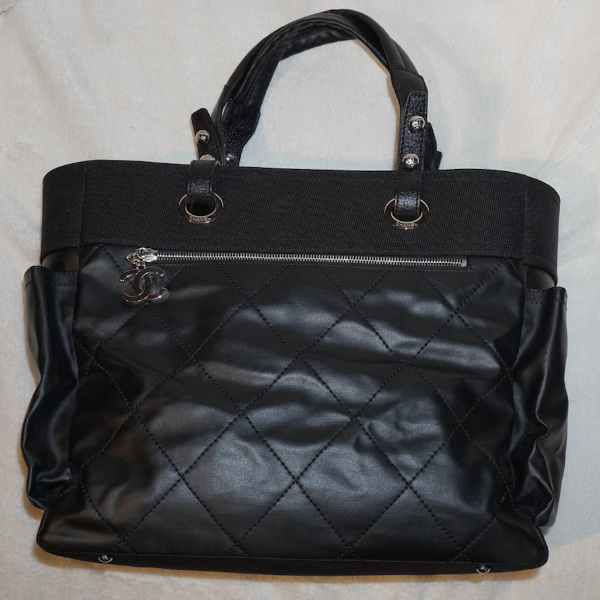 Chanel Diamond Quilted Tote Bag