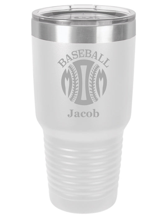 Baseball Mom 1 Personalized Tumbler