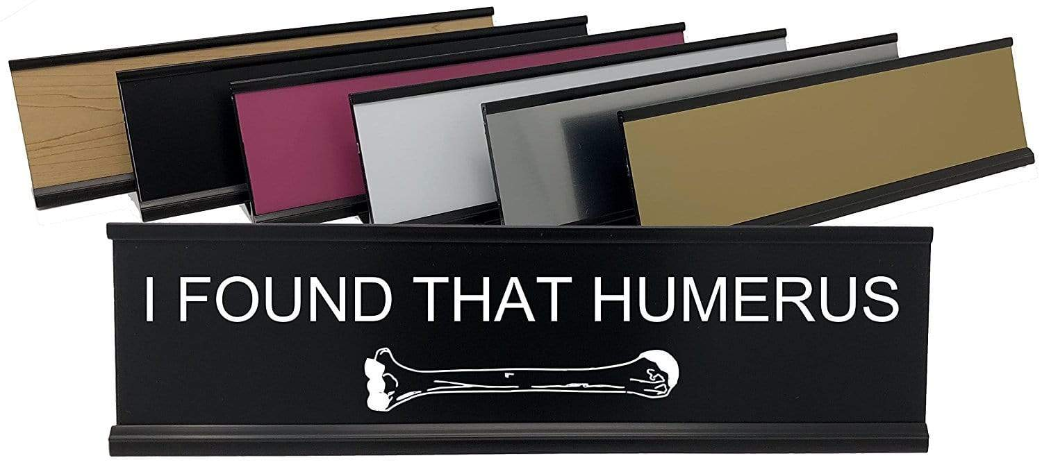 Lotsa Laughs Desk Name Plate - Humerus
